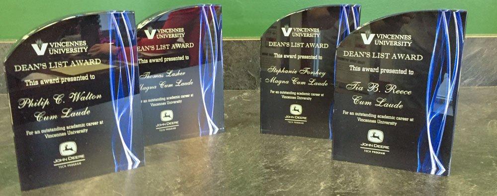 Laser Engraved Acrylic Awards