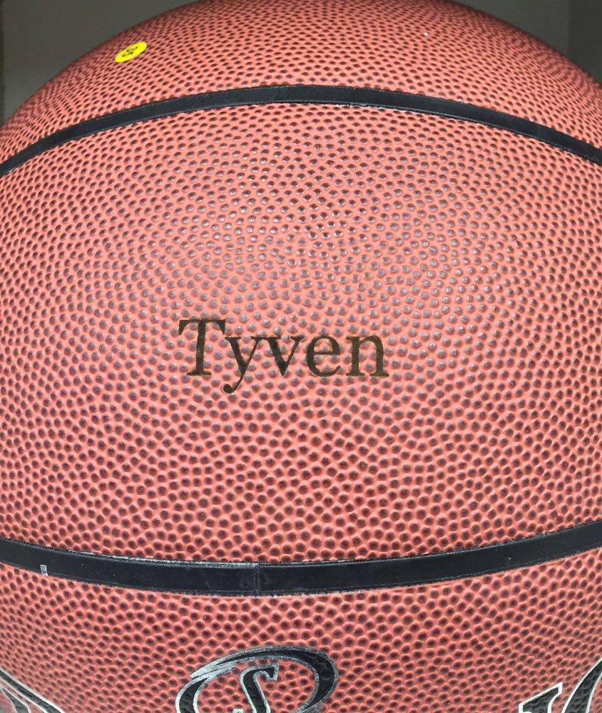 Laser Engraved Basketball