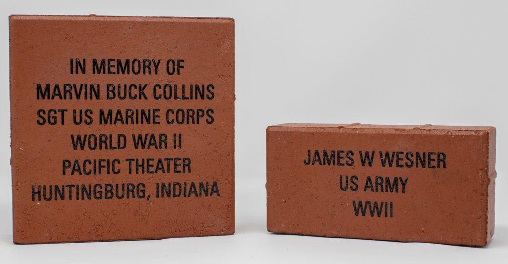 Engraved Memorial Bricks