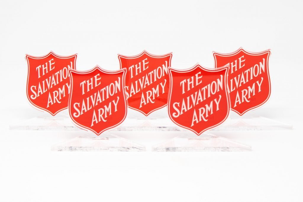 Custom Acrylic Trophies for The Salvation Army